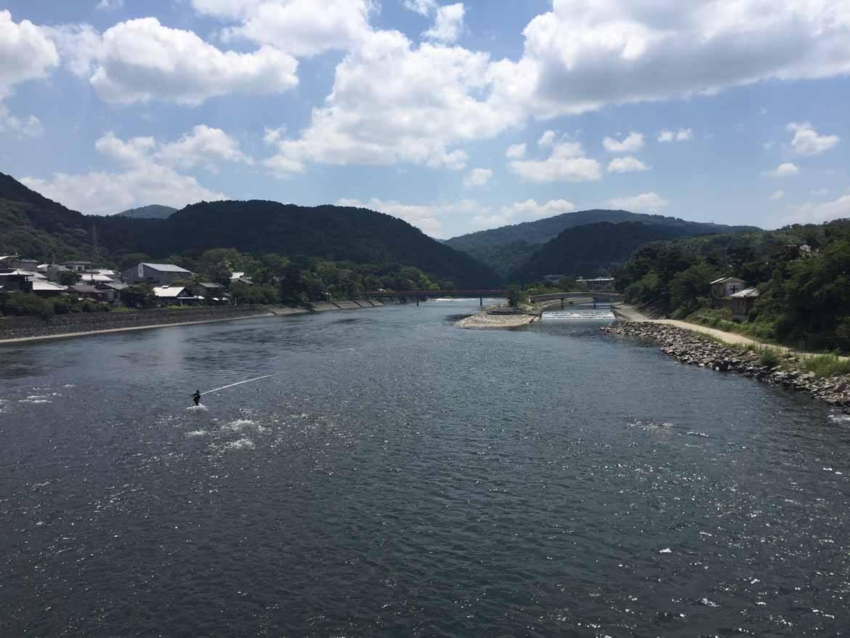 The Uji River