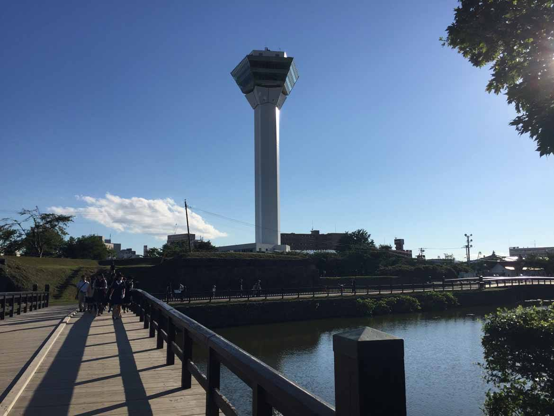 Goryokaku Fort's observation tower