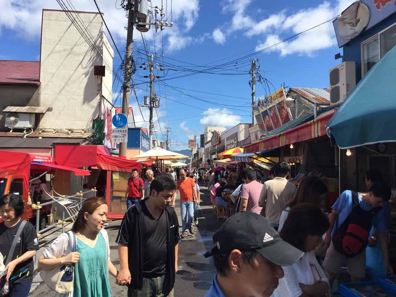 Hakodate's morning market