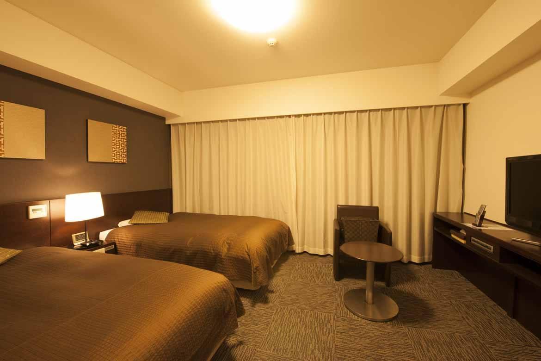 Dormy Inn Hakata Gion twin room