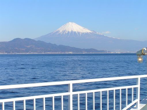 Views of Mount Fuji when travelling to the Izu Peninsula, Japan