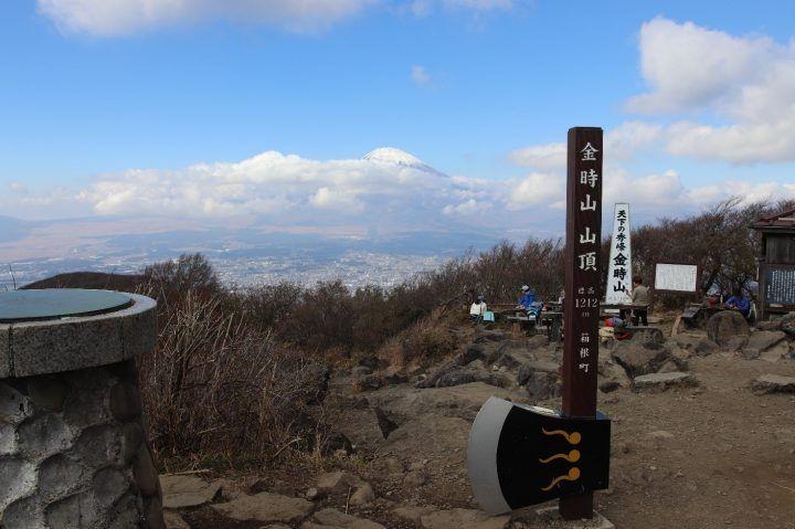 Mount Kintoki summit