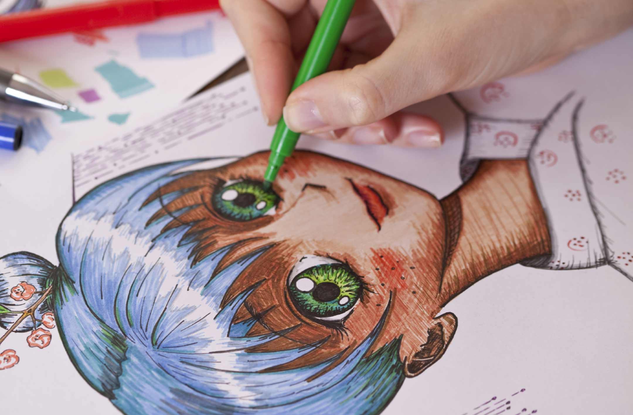Japanese Manga Art