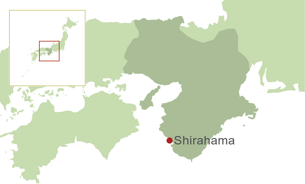 Shirahama Map