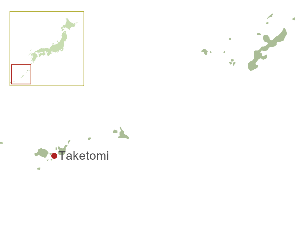 Taketomi Map