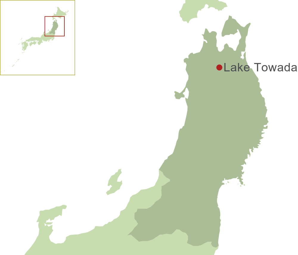 Lake Towada Map