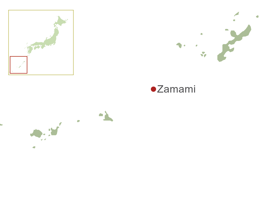 Zamami Map