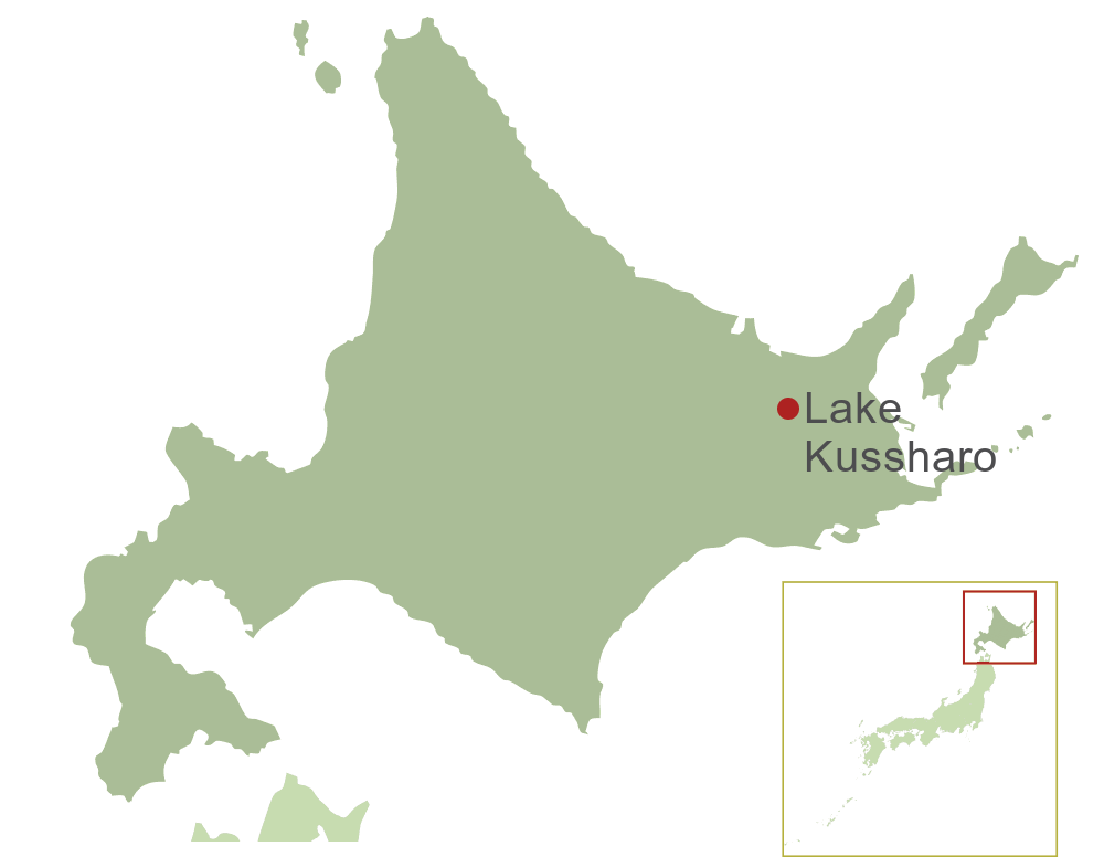 Lake Kussharo Map