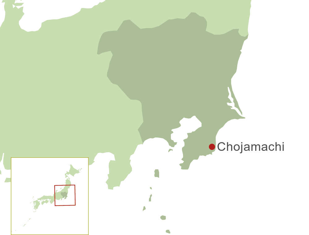 Chojamachi Map