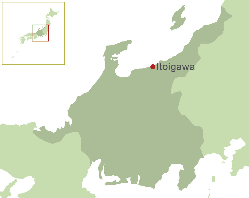 Itoigawa Map