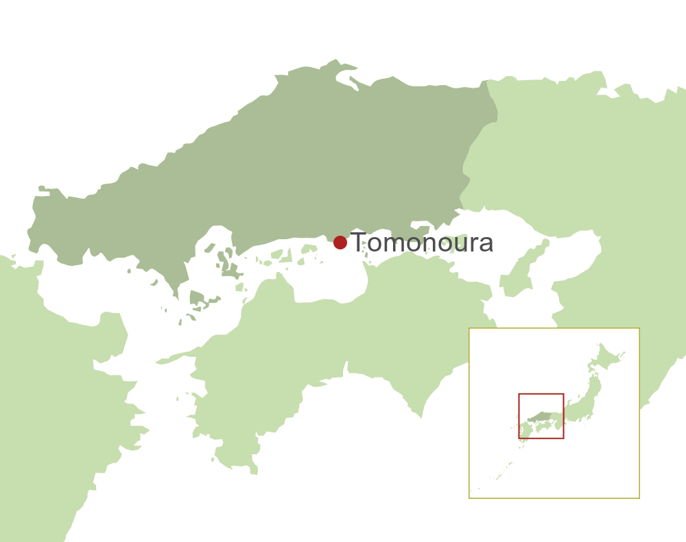 Tomonoura Map