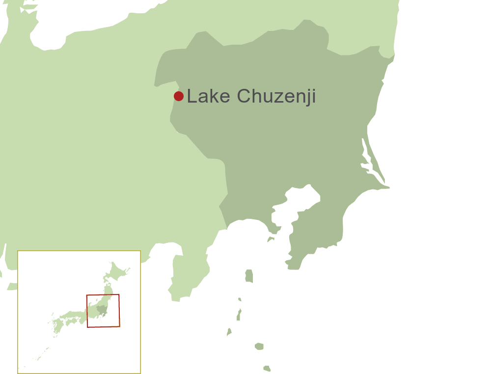 Lake Chuzenji Map