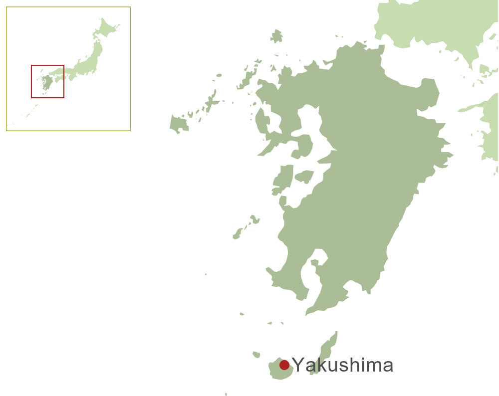 Yakushima Japan  city pictures gallery : Yakushima, Kyushu | Inside Japan Tours
