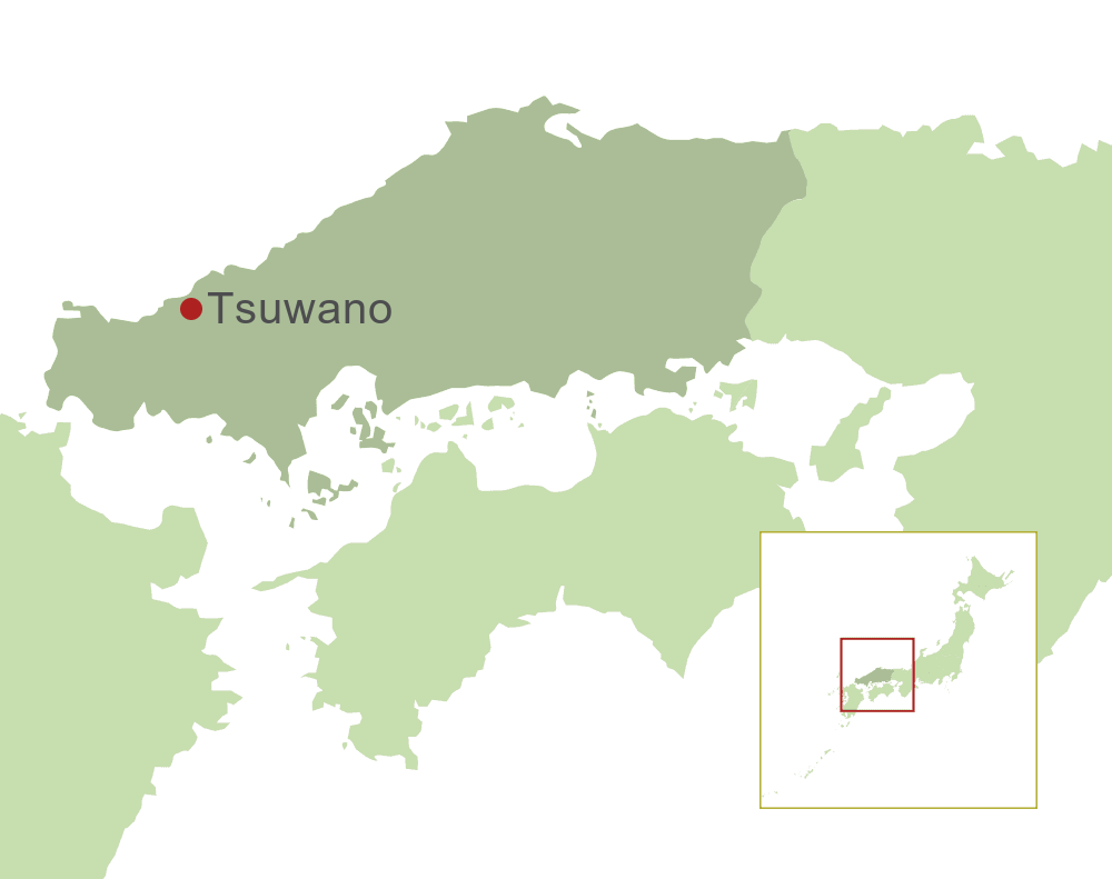 Tsuwano Map