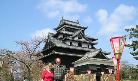 Matsue, a lovely town with very friendly people and an original castle