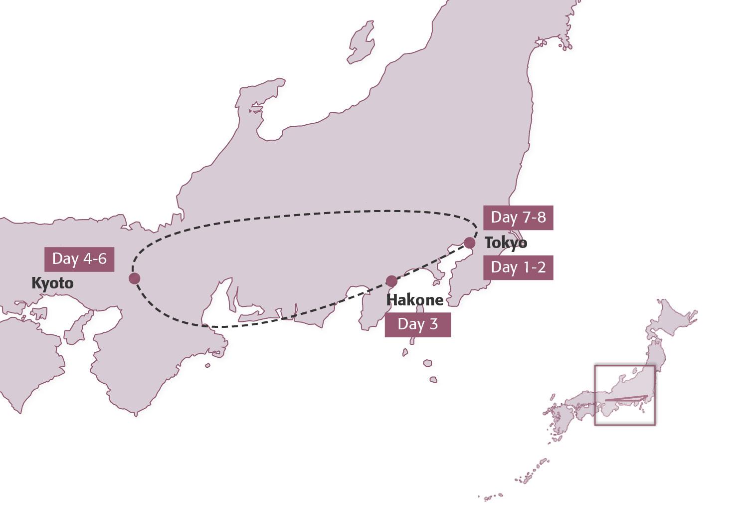 finest selection d4f3c 76fdd Map for Samurai Express