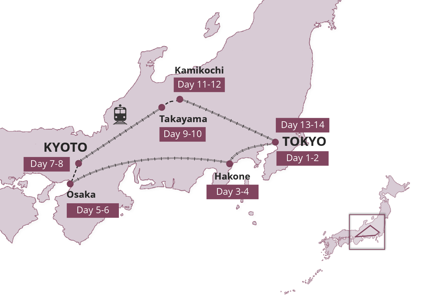 Japan Map Tour – Japan Tourist Map