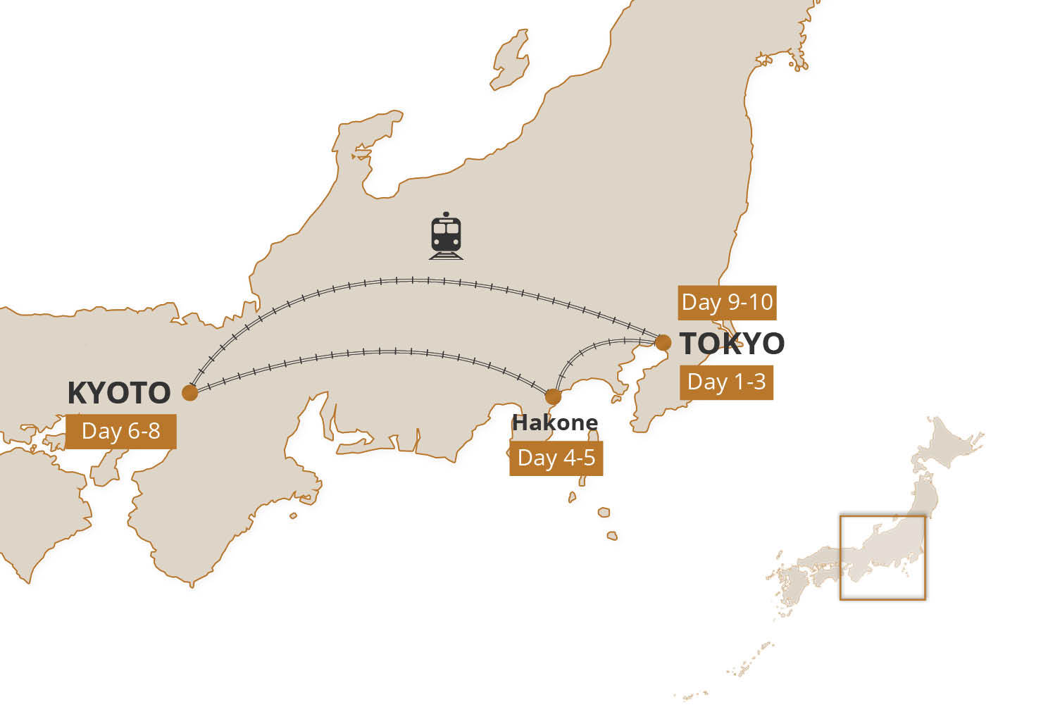 Golden Route Self-Guided Adventure | Inside Japan Tours