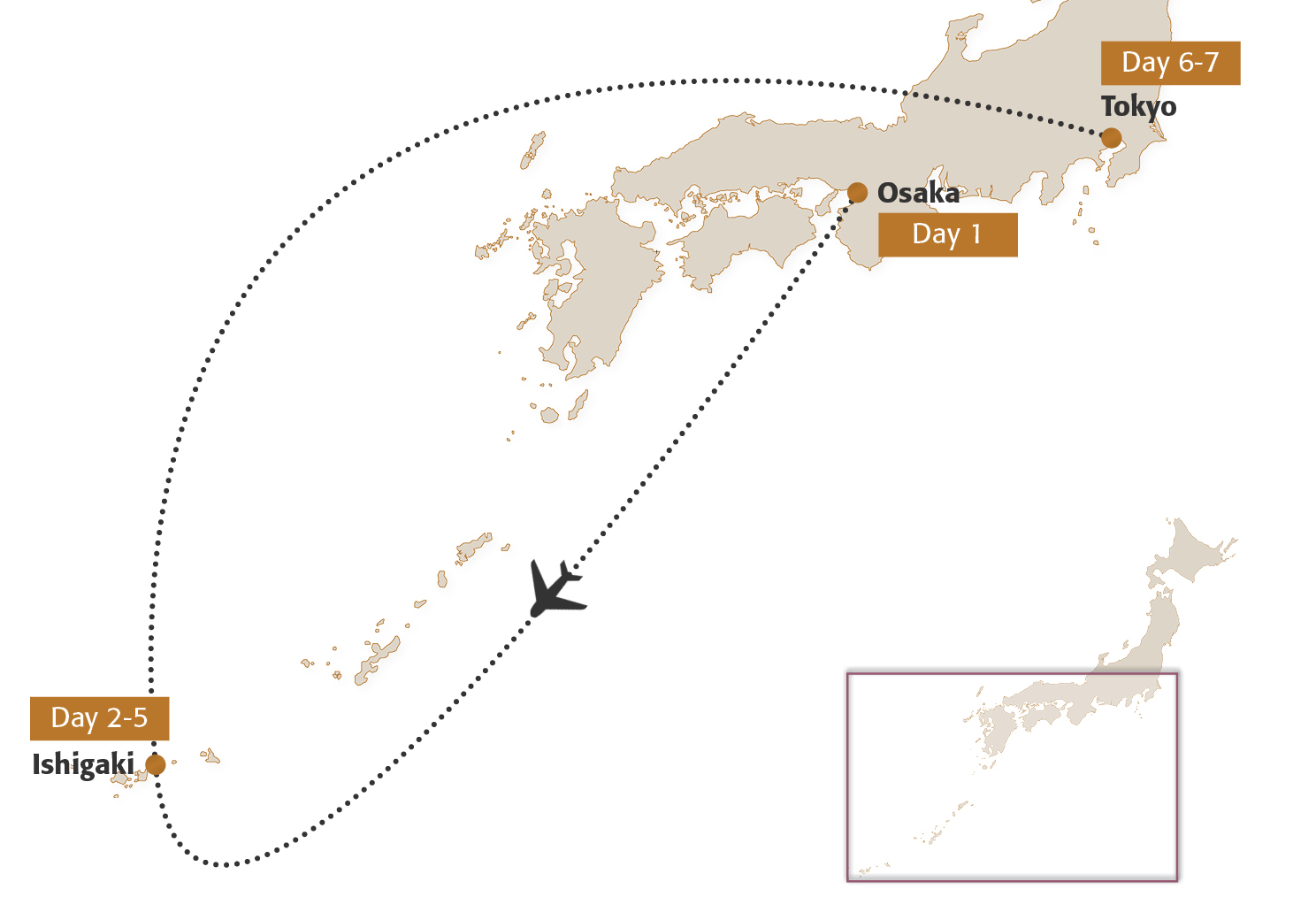 Map for Ishigaki Beach Extension