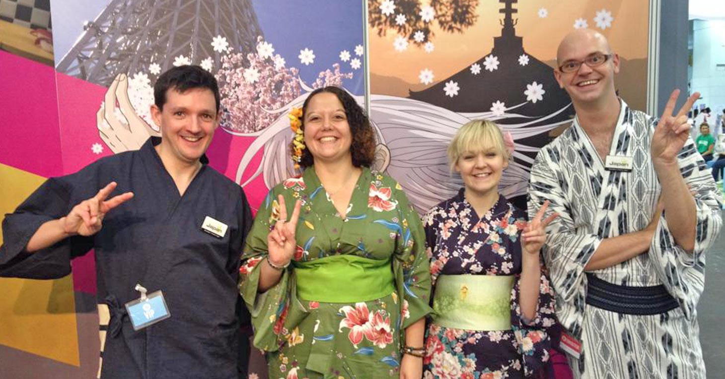 Visit InsideJapan at Destinations 2015