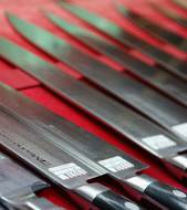 Japanese kitchen knives
