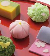 Make Japanese confectionery with a pâtissier