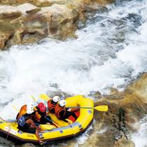 White water rafting in Minakami