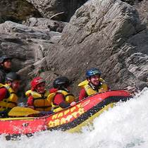 Rafting on the Yoshino River