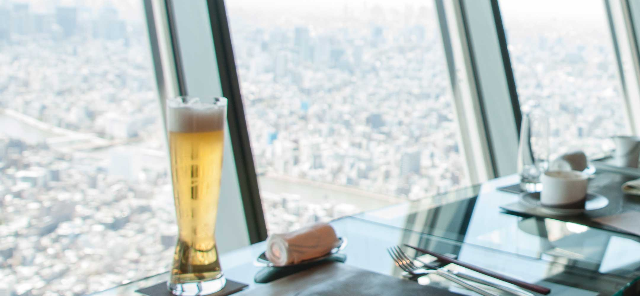 Lunch at the Tokyo Skytree