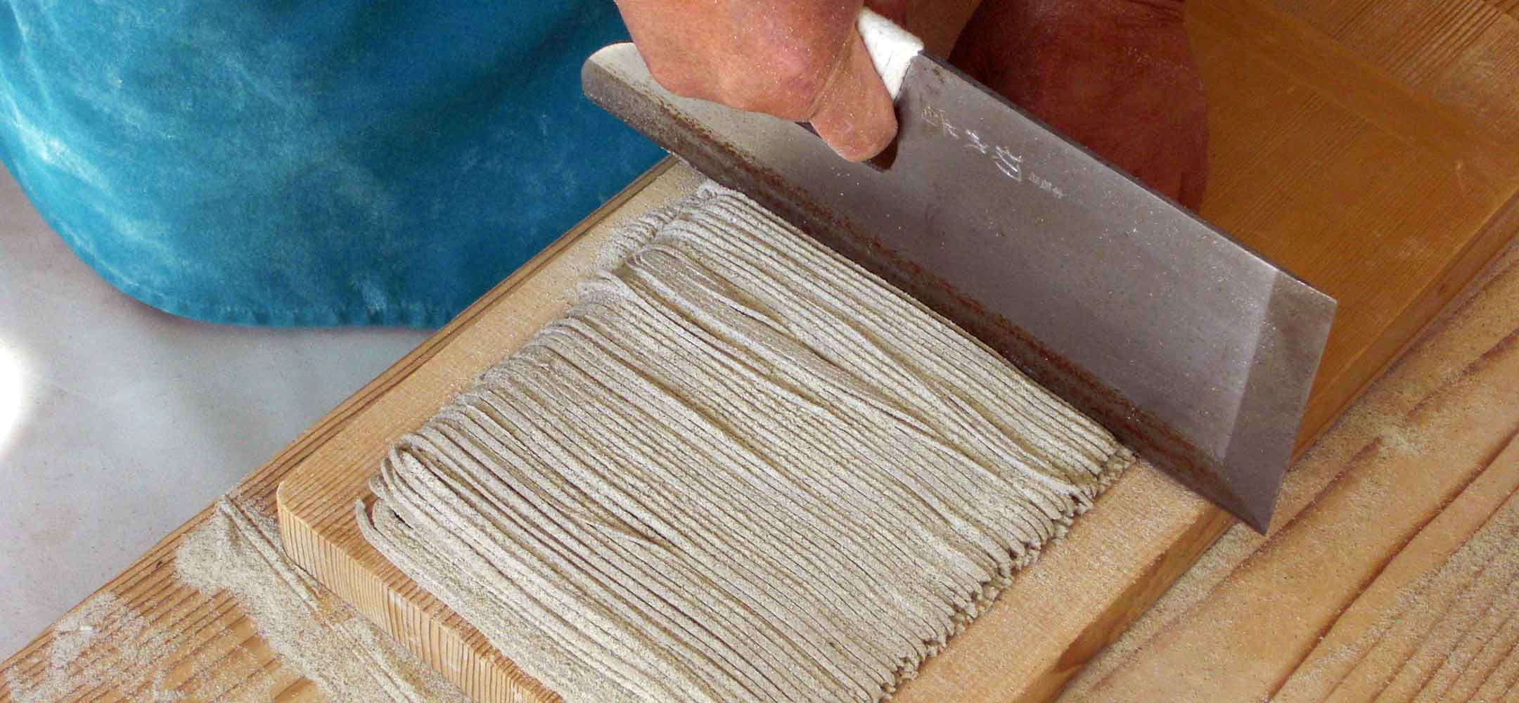 Soba noodle making experience japan inside japan tours for How to make fishing noodles