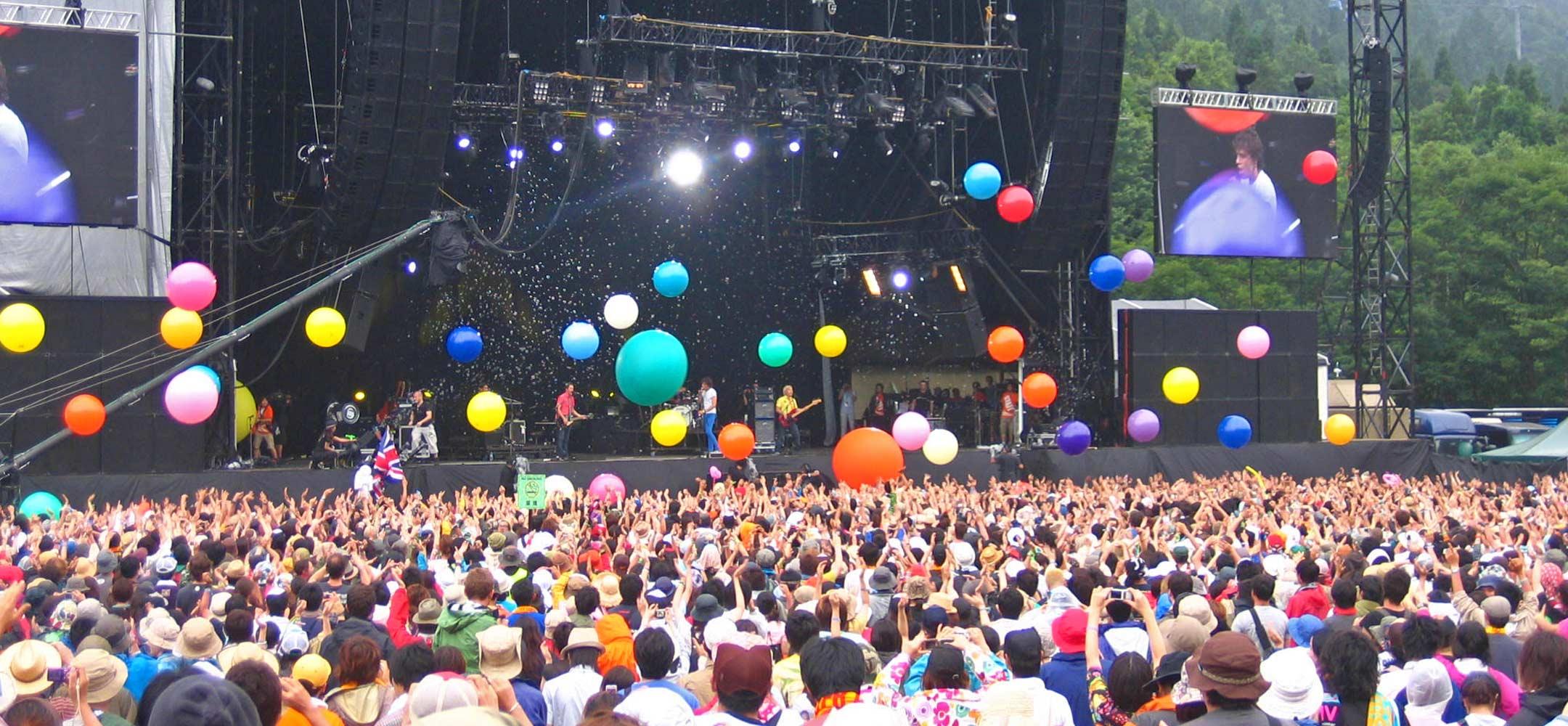 Image result for festival fuji rock