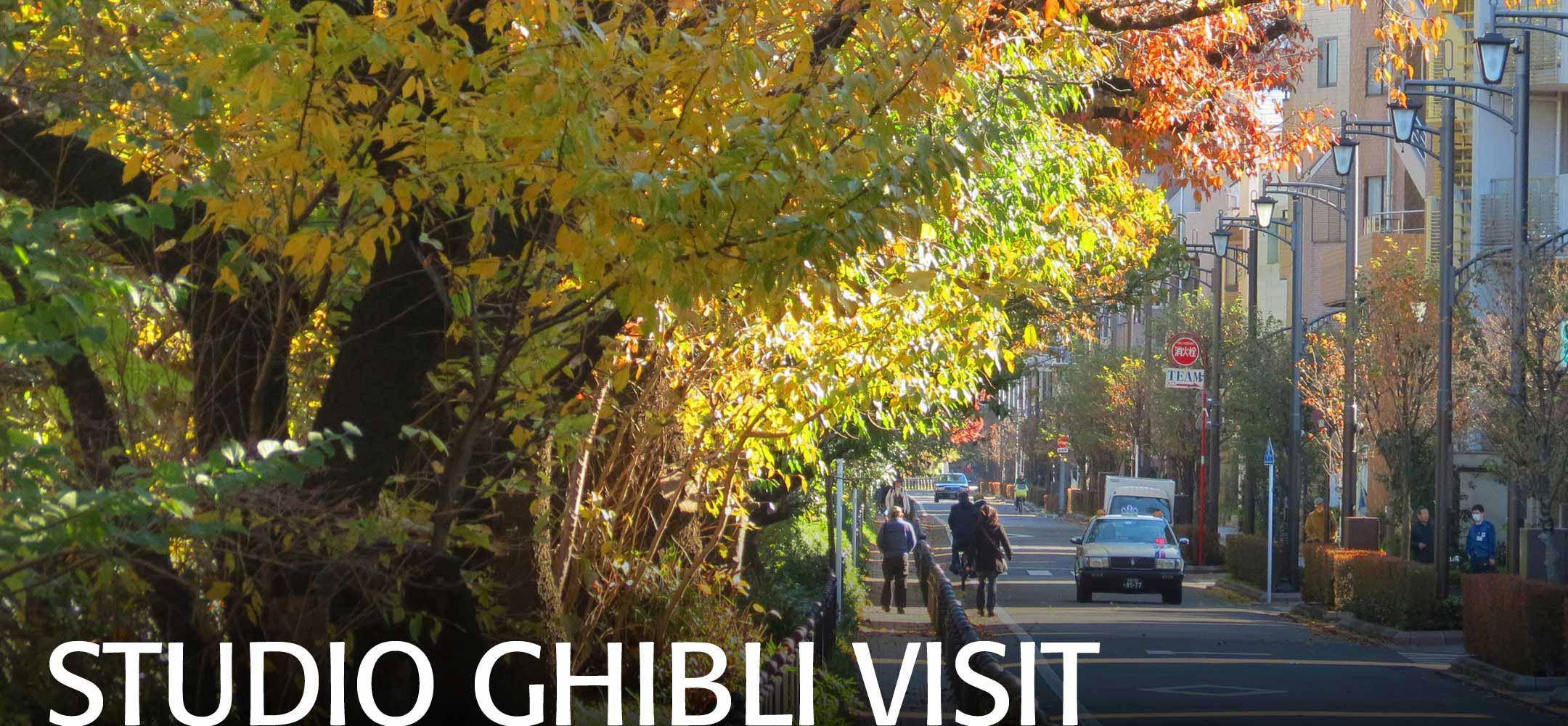 Studio Ghibli Tours Japan