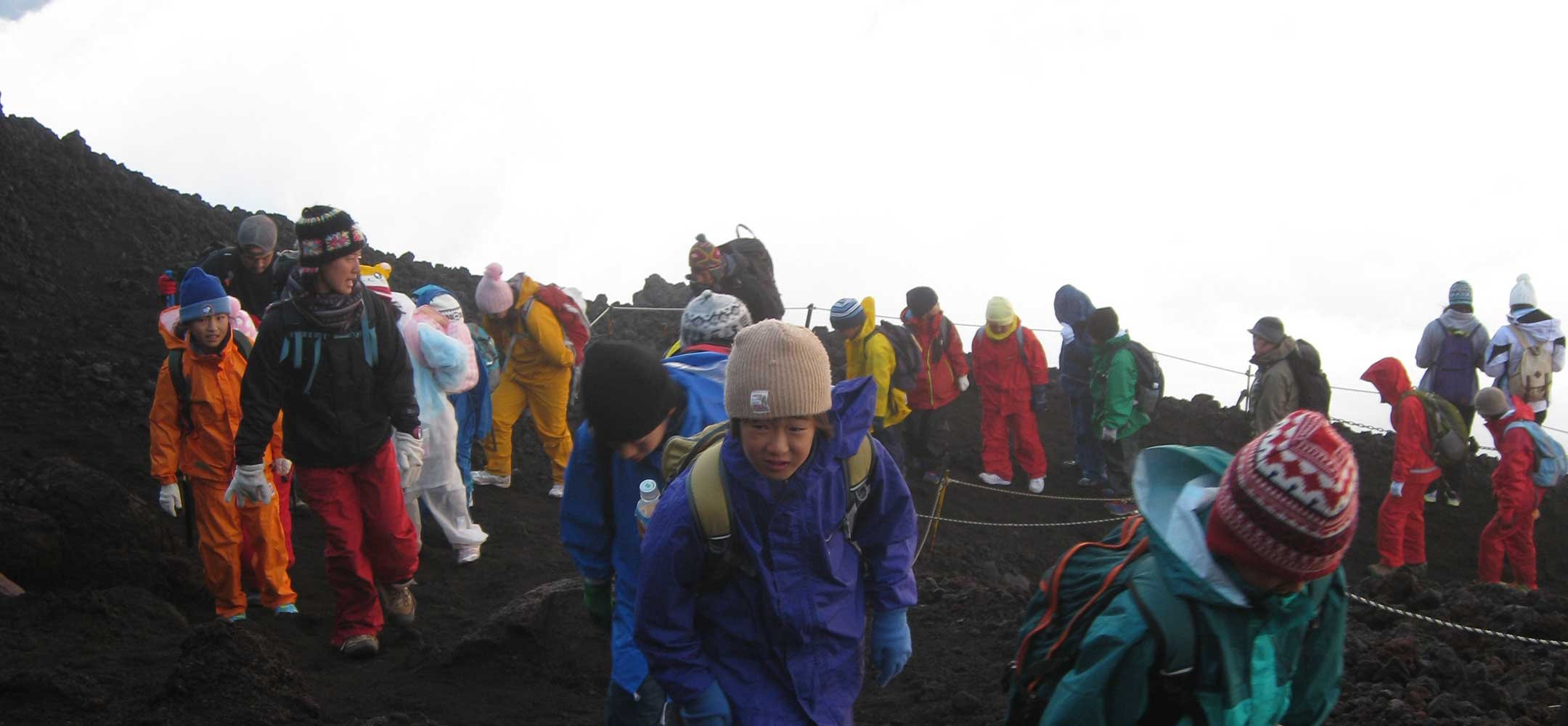 Mount Fuji climb (from Hakone)