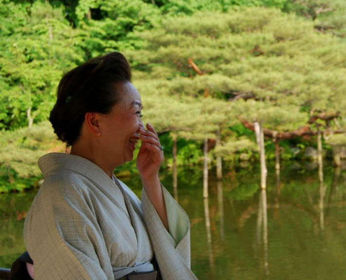 Contemplate your reason for being on a philosophical journey around Japan.